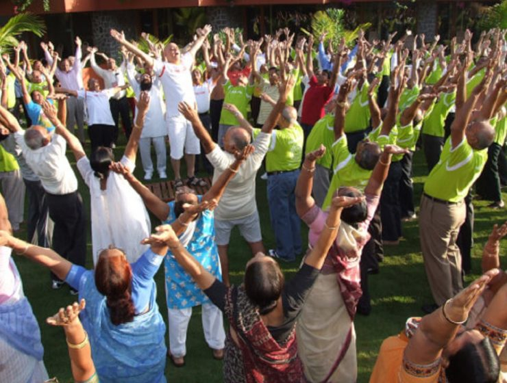 Laughter Yoga Is The Answer