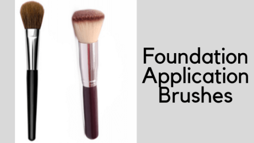 foundation application brushes