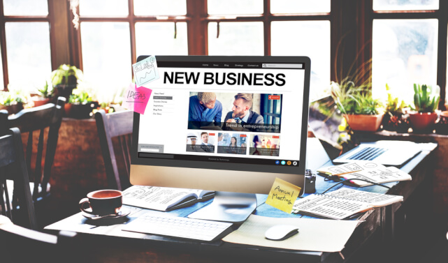 Planning a website for new business