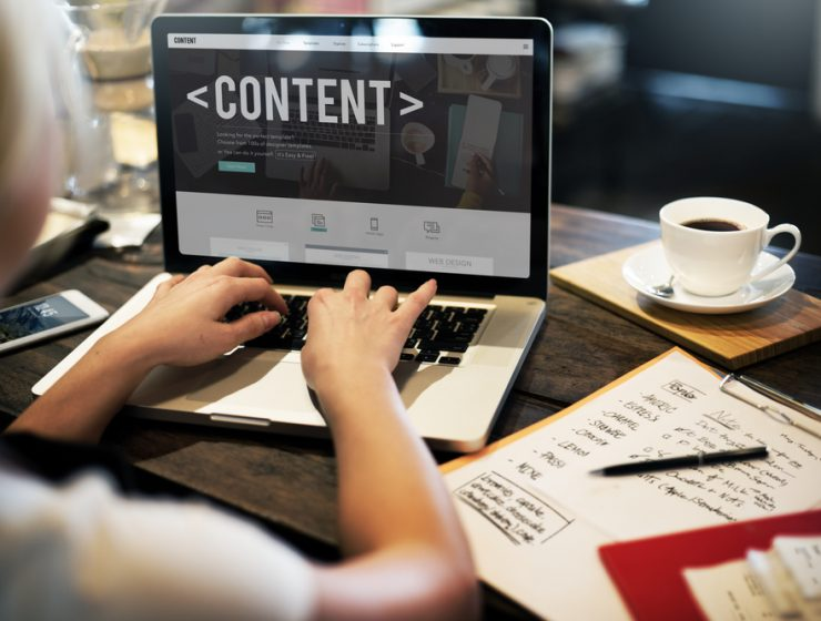 content marketing for website