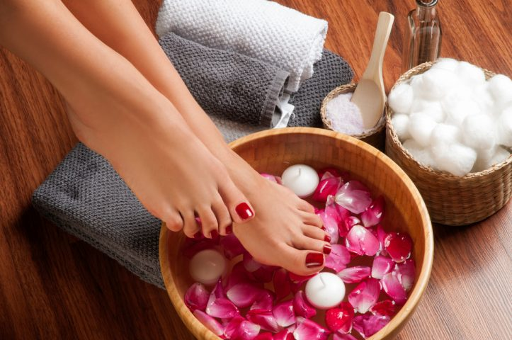 homemade pedicure tips