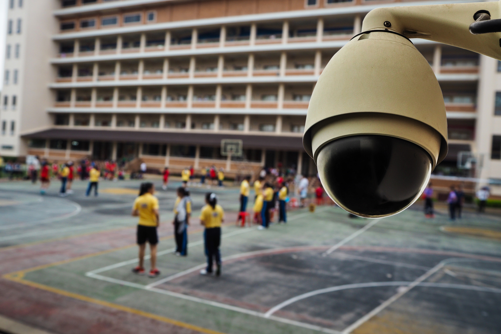 Benefit of CCTV in school