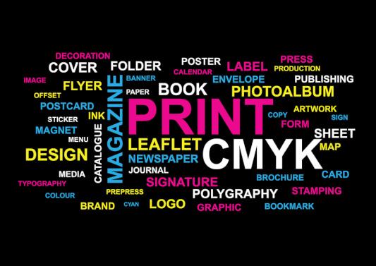 print graphic designing