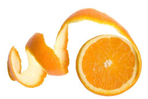 orange peel for Brighter Underarms