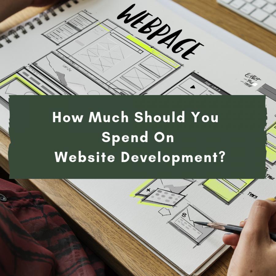 cost of website development