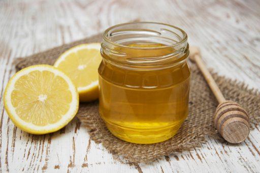 honey and lemon for foot