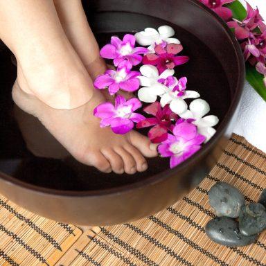hot water foot soak