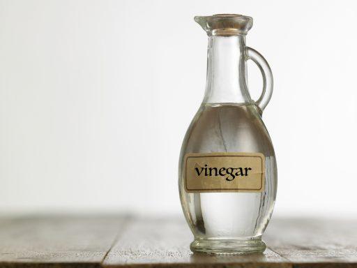vinegar for foot