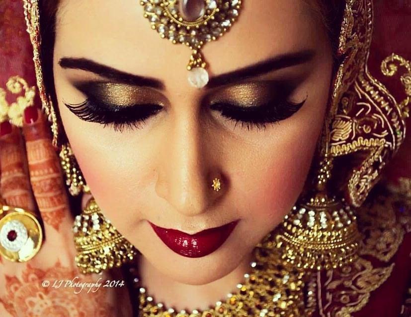 eye makeup, bridal makeup