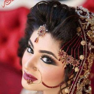bridal makeup ,eye makeup