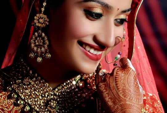 bridal makeup, dulhan makeup
