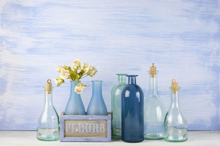 glass bottles, home decor, diy