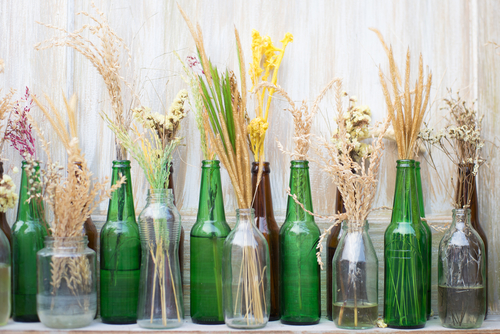 Diy Ideas For Home Decor 5 Ways To Reuse Old Glass Bottles Jars The Urban Guide