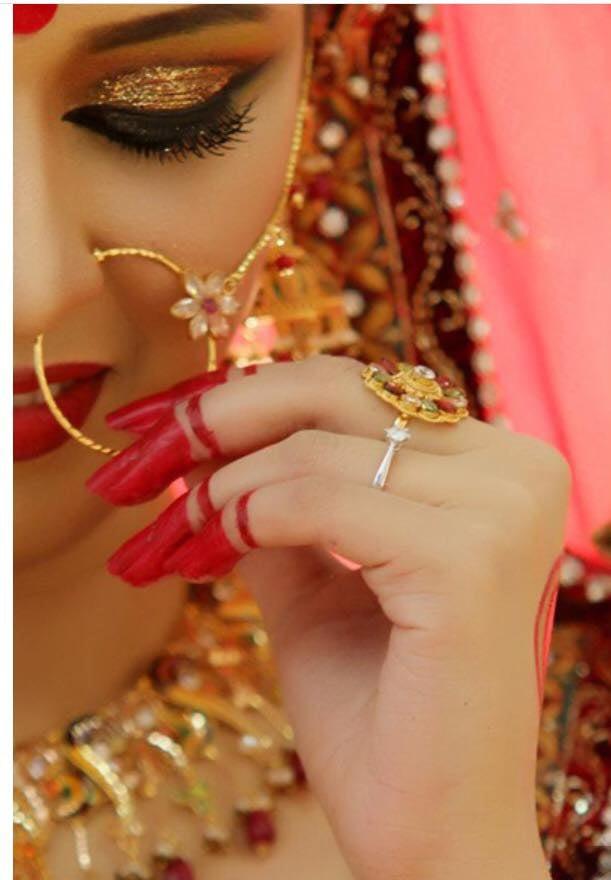 bridal makeup, traditional makeup