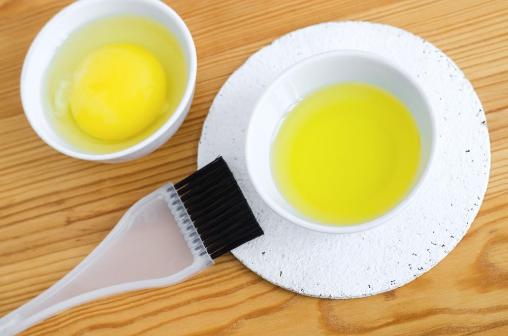 egg yolk for hair volume