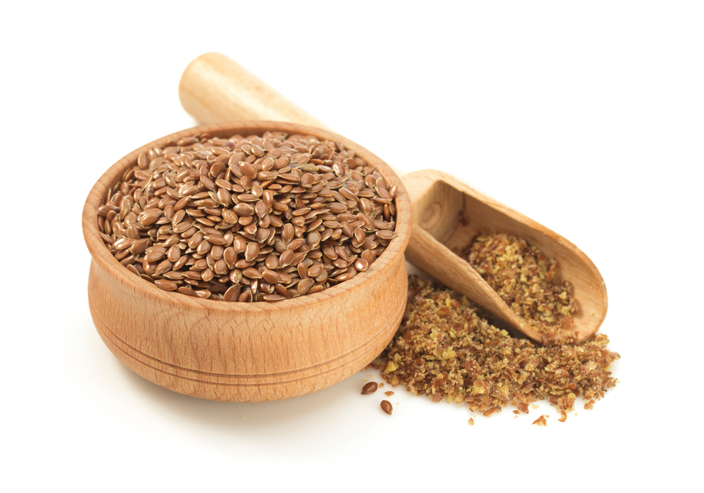 flax seeds powder for healthy hair