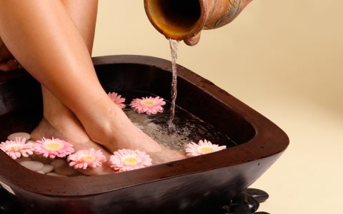 pedicure at home for tan removal