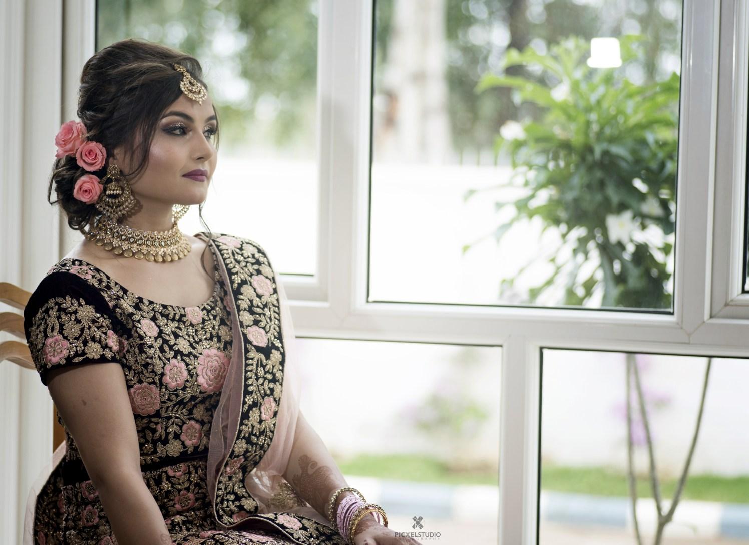 wedding fashion, bridal hairstyle