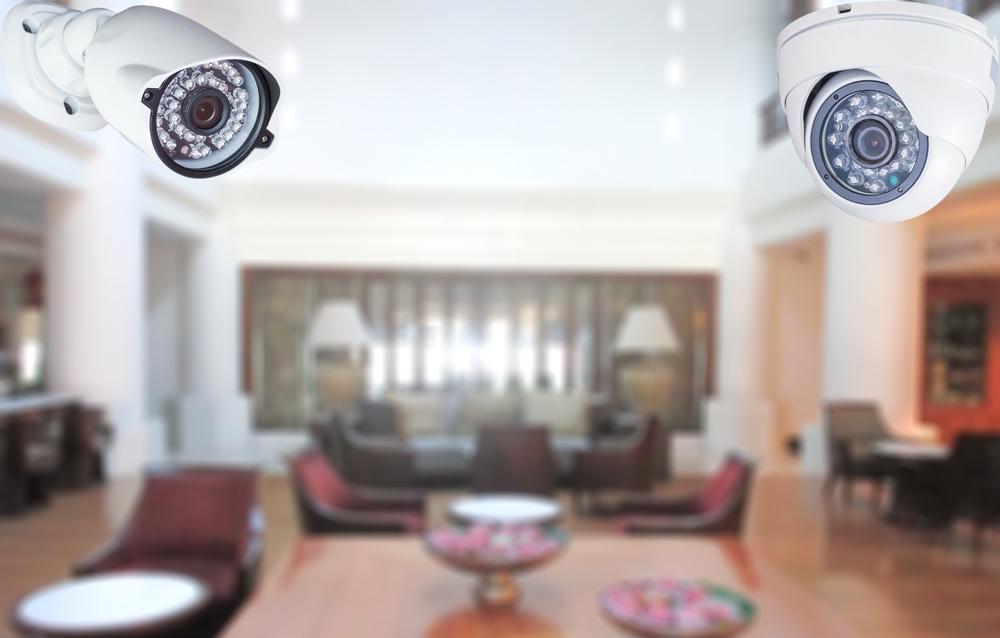 hotel elevator cameras