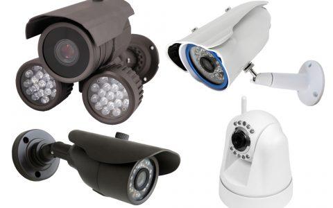 infrared vision CCTV cameras