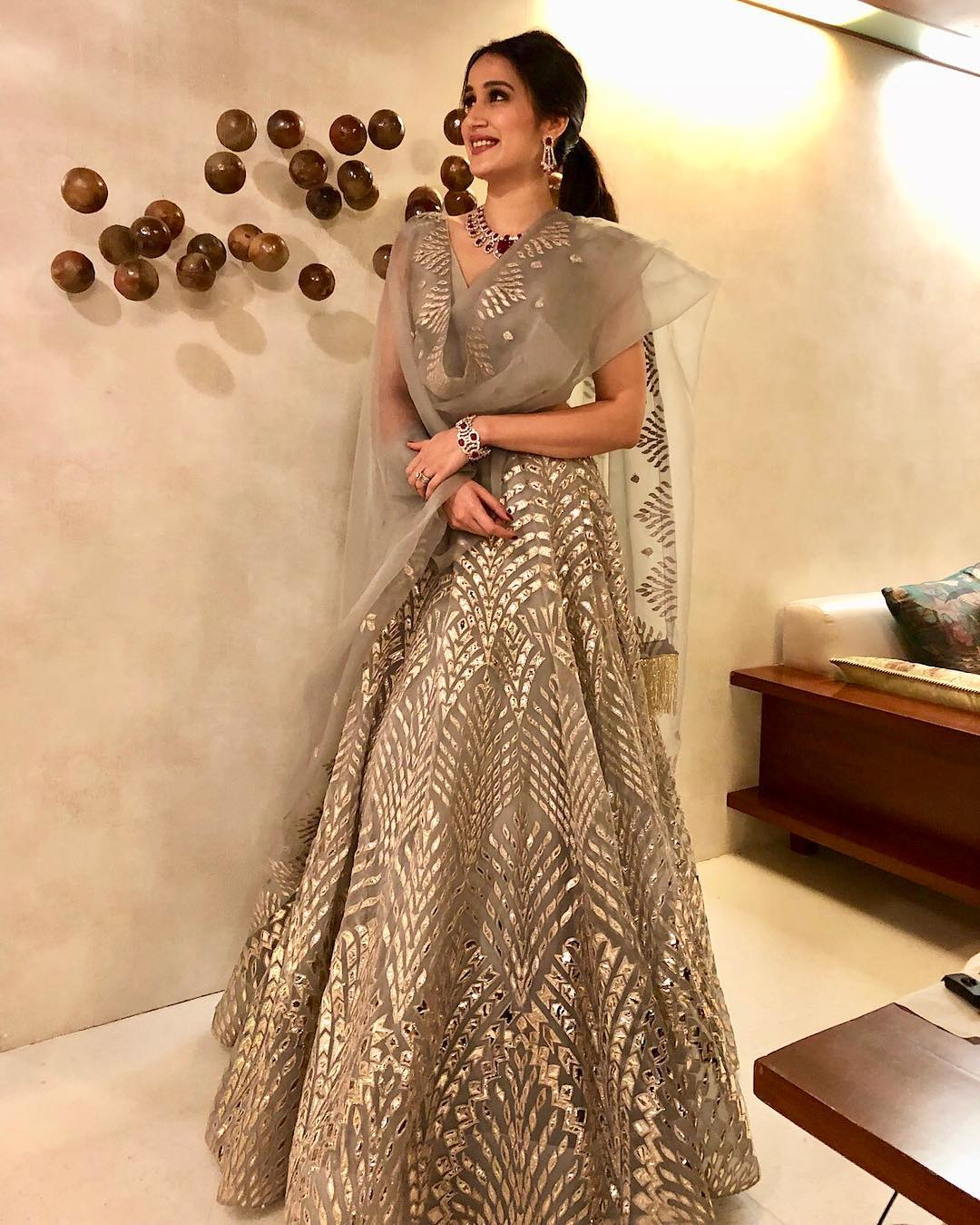 Sagarika ghatge wedding