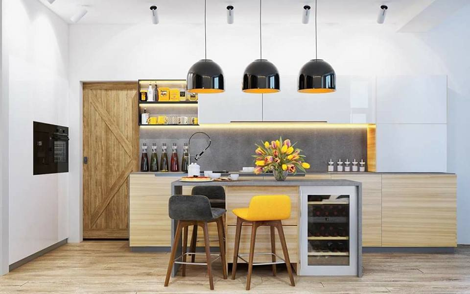 Open Modular Kitchen