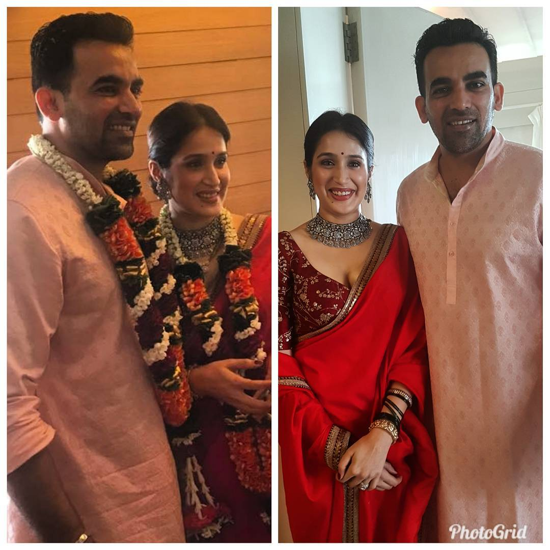 Sagarika Ghatge Zaheer Khan Court Marriage