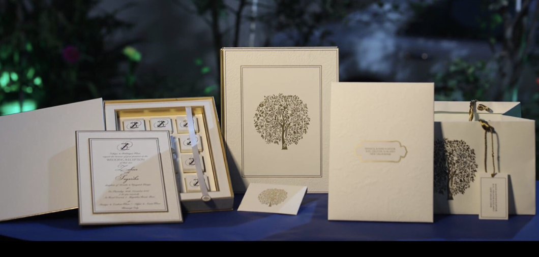 Sagarika Ghatge Wedding Invites