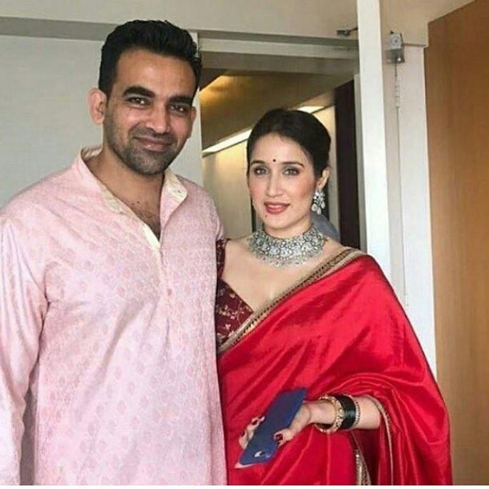 Sagarika Ghatge Zaheer Khan Wedding