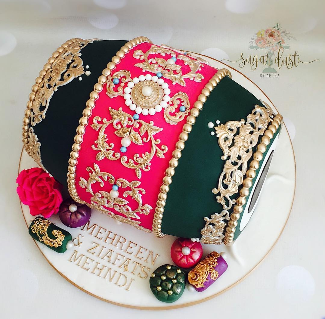 Mehendi Cake design ideas