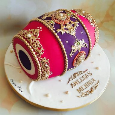 Mehendi cake design ideas