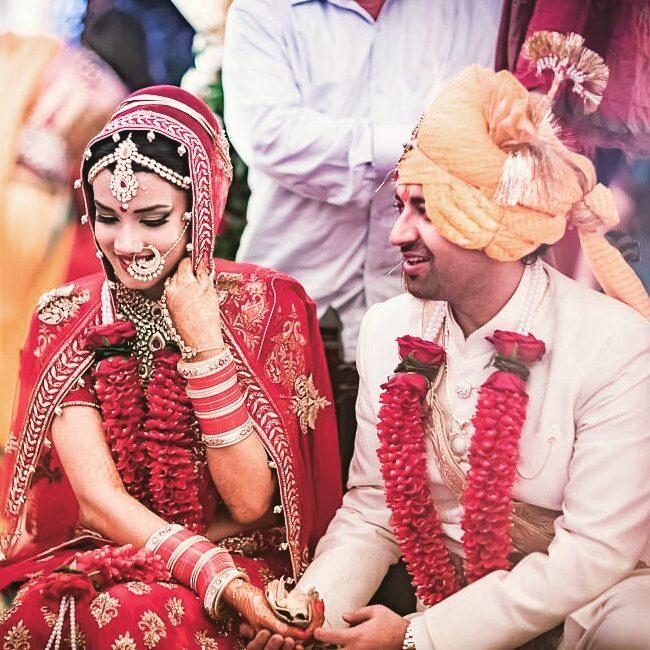 Indian Bridal Red Lehenga