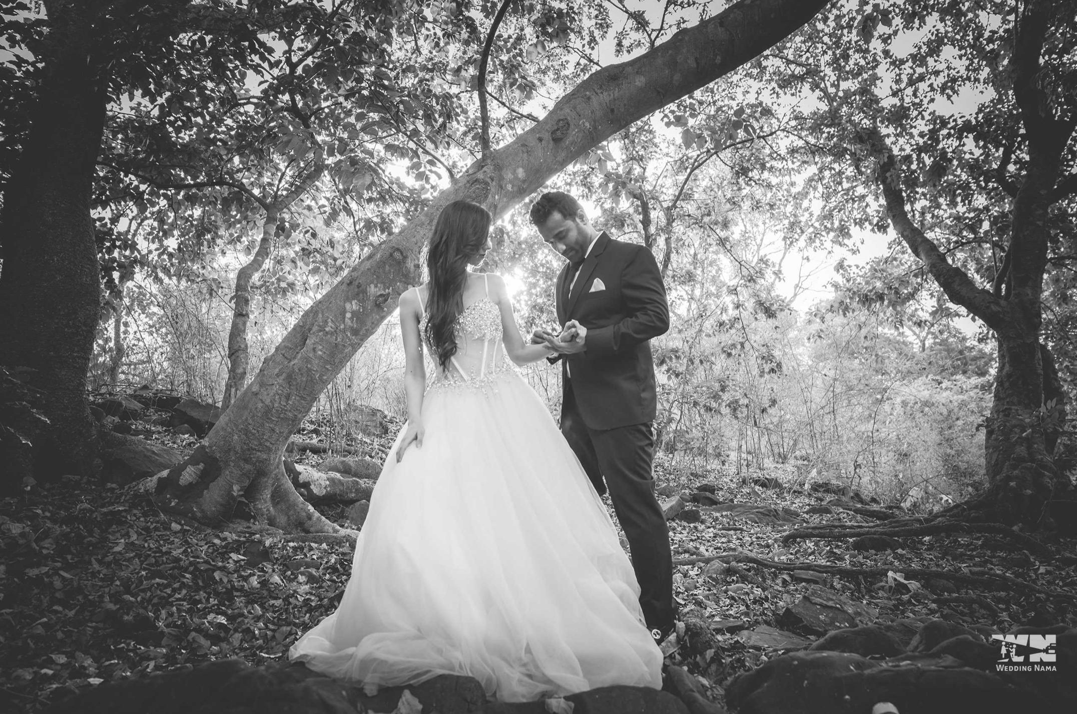 Nishka Lulla Pre Wedding Shoot in Garden