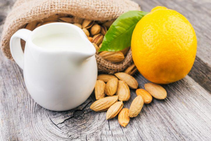 almond and lemon