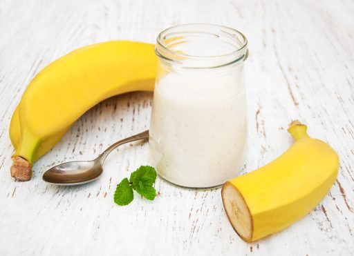 banana and milk hair mask for colored hair
