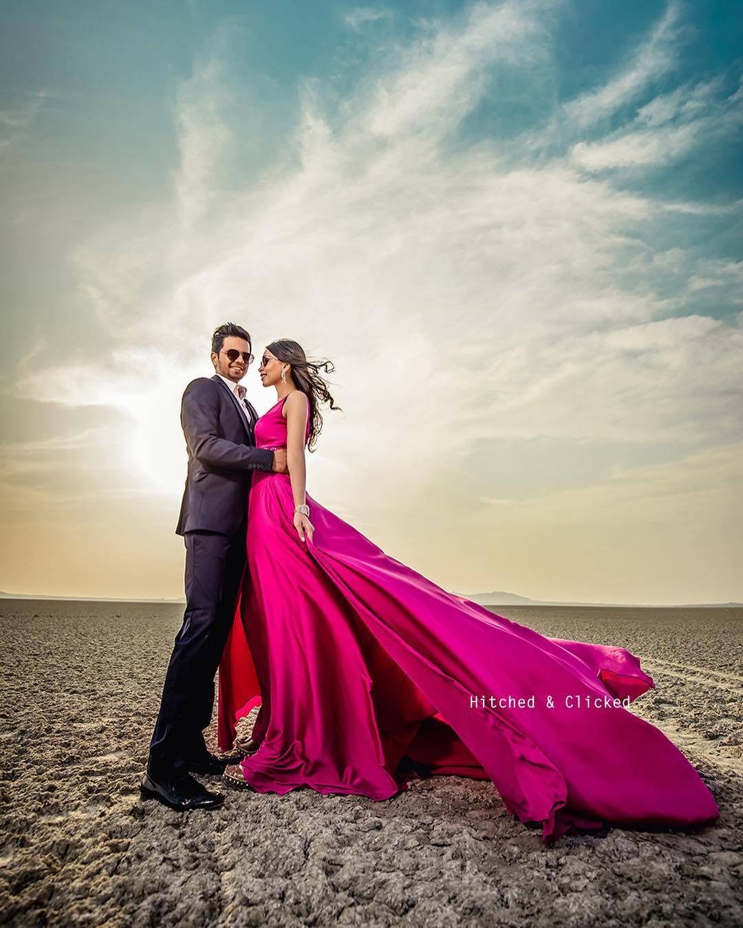 What To Wear To A Pre-wedding Shoot To Add Visual Drama?