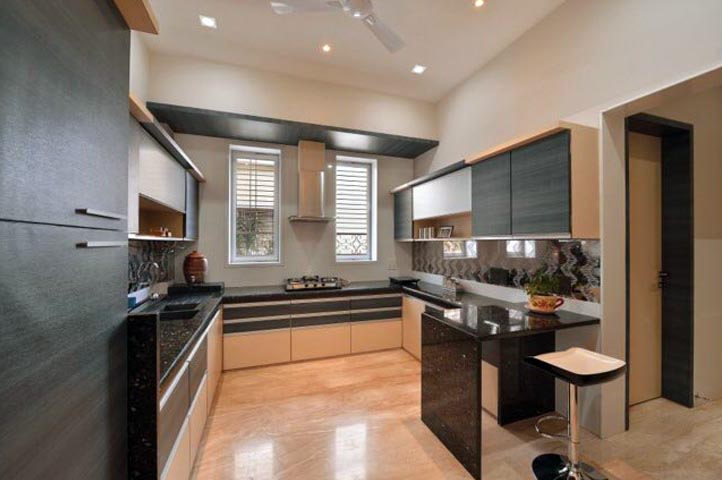 G-Shaped Modular Kitchen Ideas
