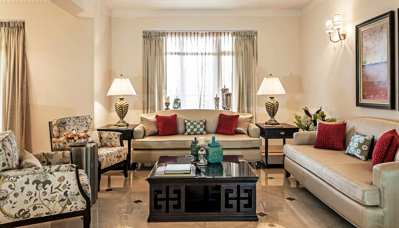 Inside A Delhi House With Elegant Transitional Decor That S Practical Too The Urban Guide