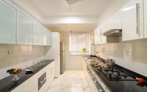 how to clean white kitchen cabinets