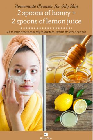 homemade cleanser for oily skin