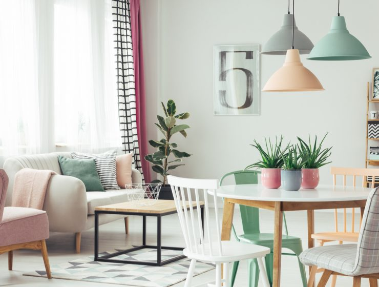 pastels home decor