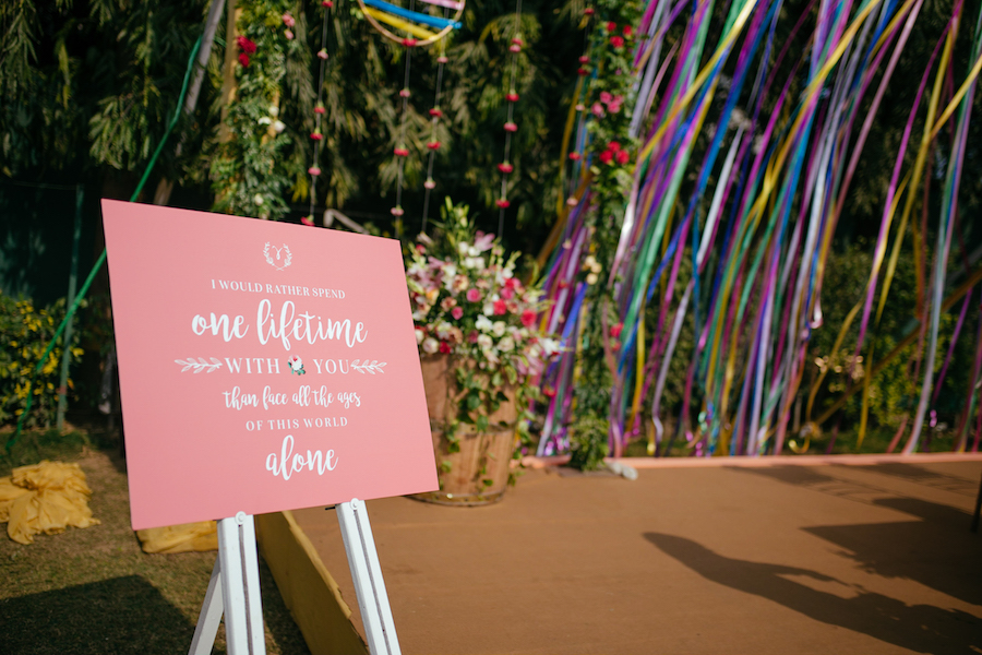 Wedding Signage - Ideas for Quotes