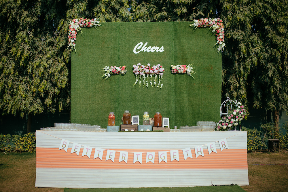Bar for Indian Weddings