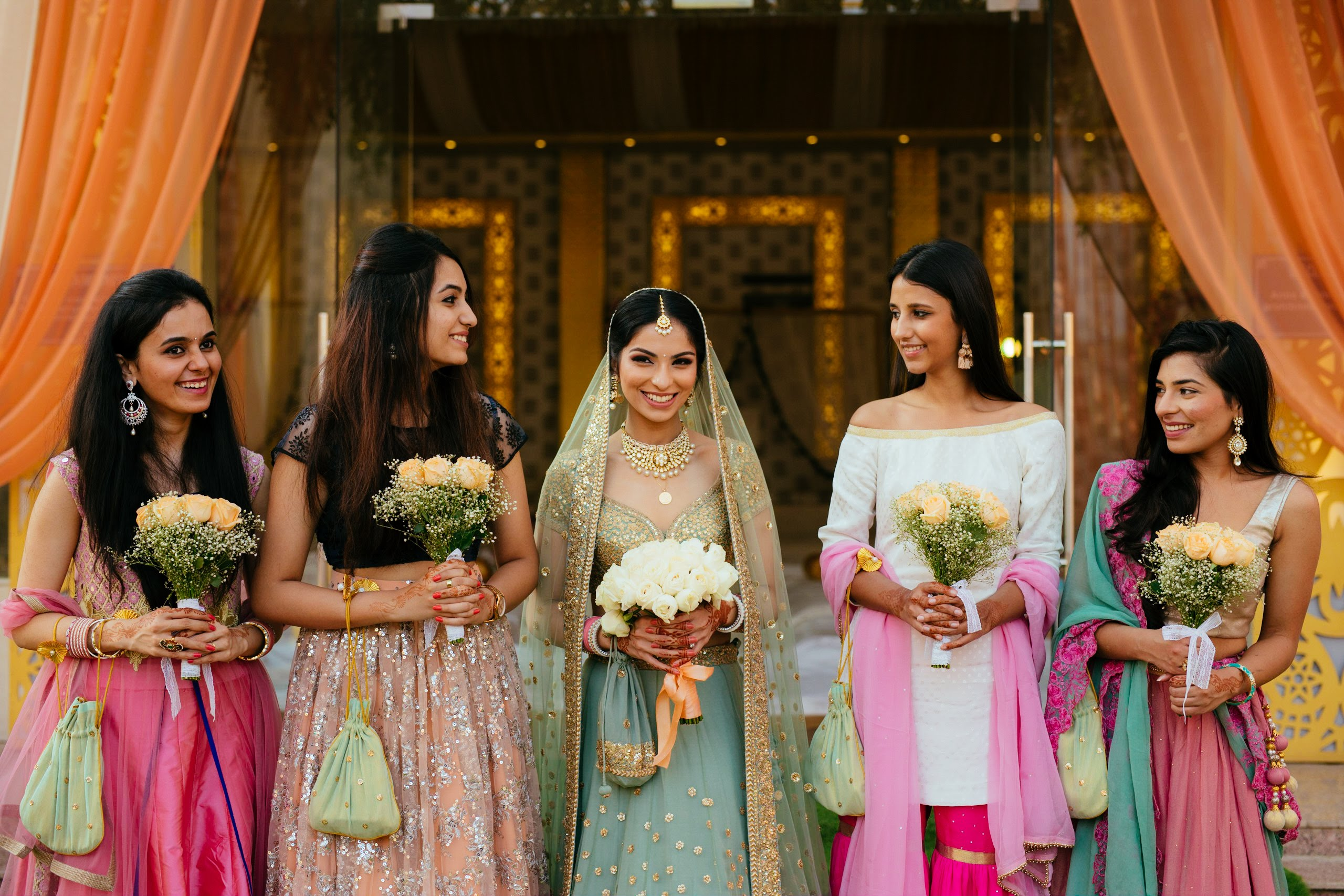The Bride with her Bridesmaid- Wedding Photography