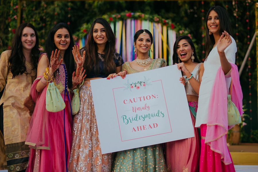 22 Ideas To Steal From Mansha S Pin Worthy Delhi Wedding The Urban Guide