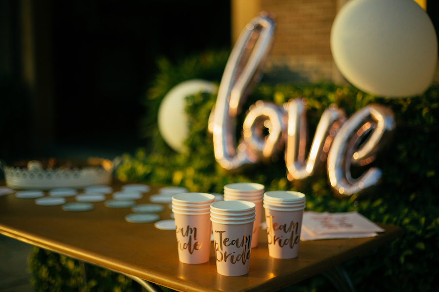 Props for Bridal Shower- Team Bride Cups