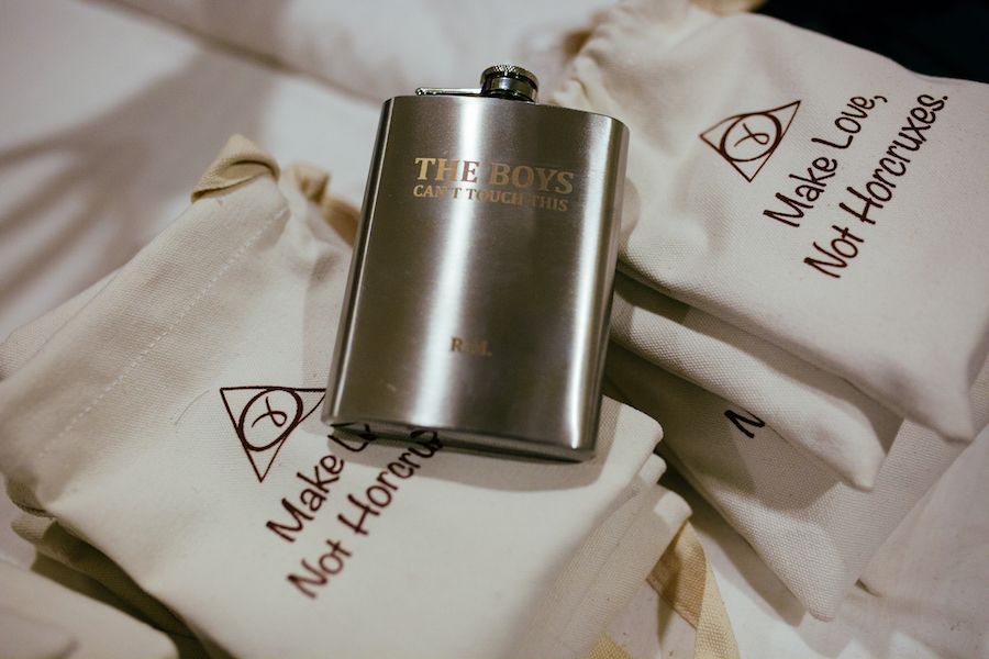Personalised Hangover Kits for the guests- Wedding Ideas