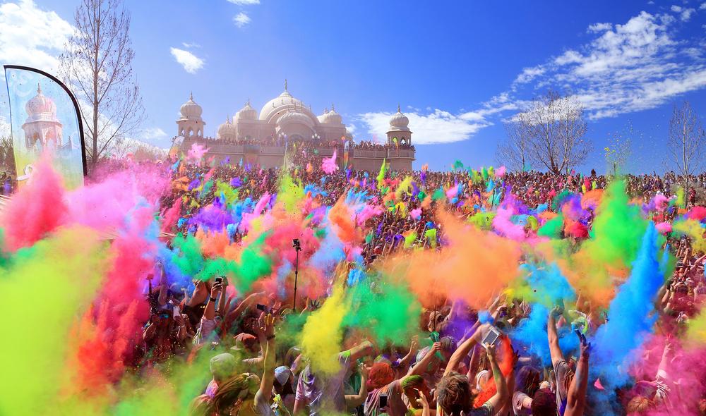Holi in Agra