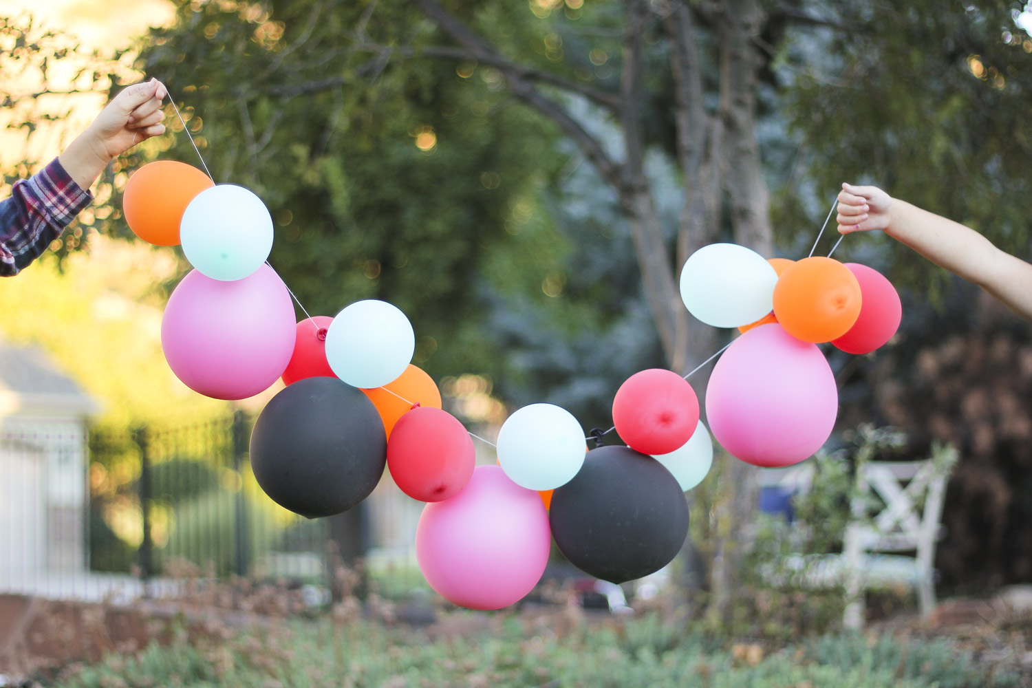 6 Super Easy Balloon Decoration Ideas For Birthday Parties ...