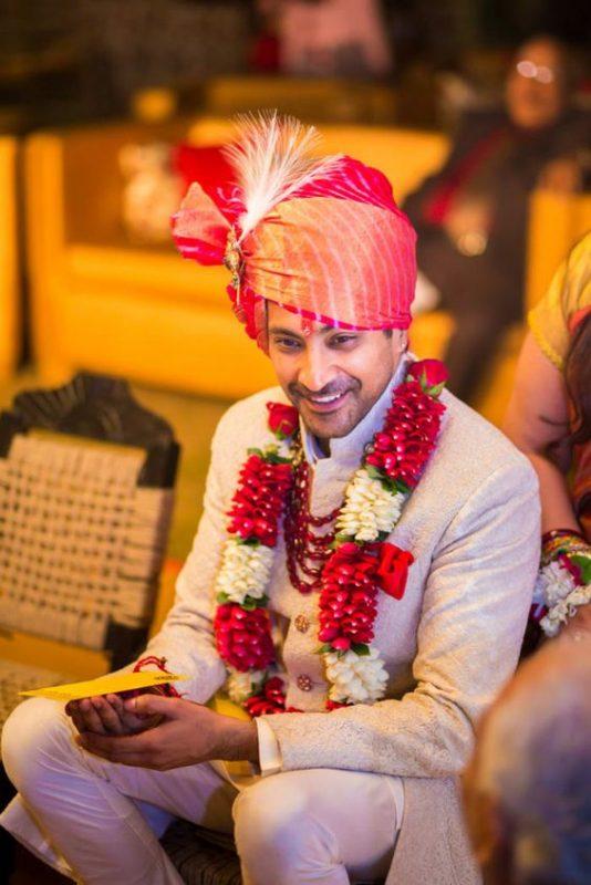 Red Leheriya Marriage Pagdi